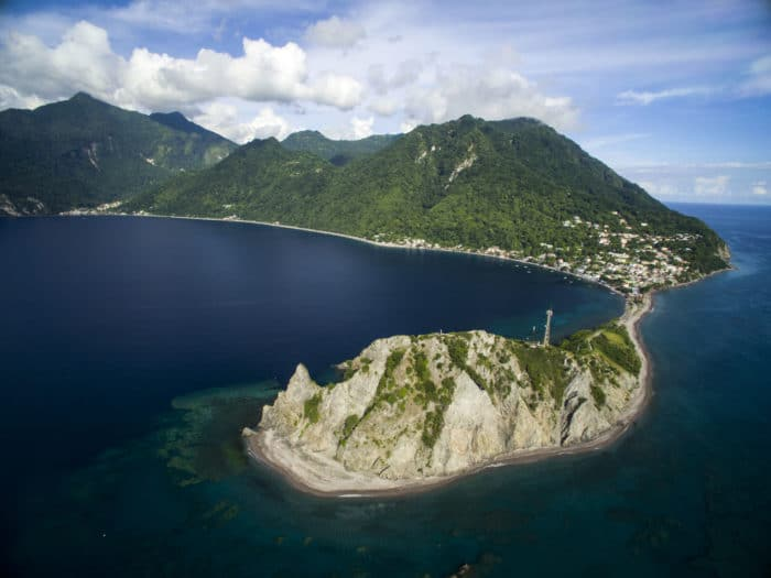 Dominica - Home of Blue Element