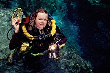 ill Heinerth, Rosemary E Lunn, Roz Lunn, NOGI Awards, EUROTEK Awards, OzTEK Awards, The Royal Canadian Geographical Society Explorer-in-Residence, WDHOF, Women Divers Hall of Fame, Explorers Club, National Speleological Society