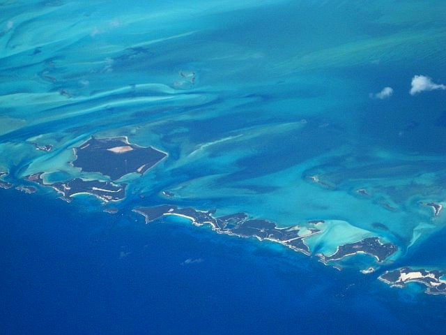 Darby Island and Rudder Cut Cay, Exumas Photograph by Christina Hawkins