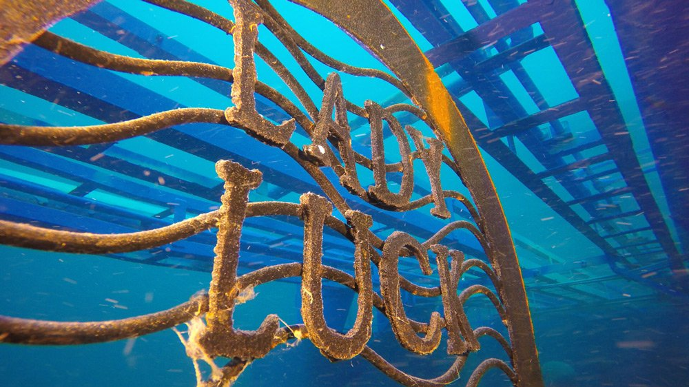 The Lady Luck the Newest Addition to Shipwreck Park
