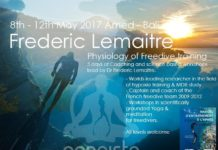 New training week of workshops with Frederic Lemaitre at Apneista in Amed, Bali.