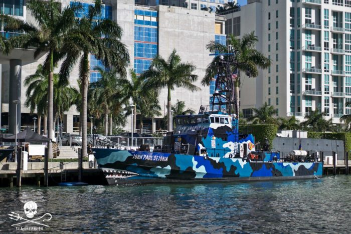 Sea Shepherd has dispatched their new ship the JOHN PAUL DEJORIA from Miami to join the search for Rob Stewart