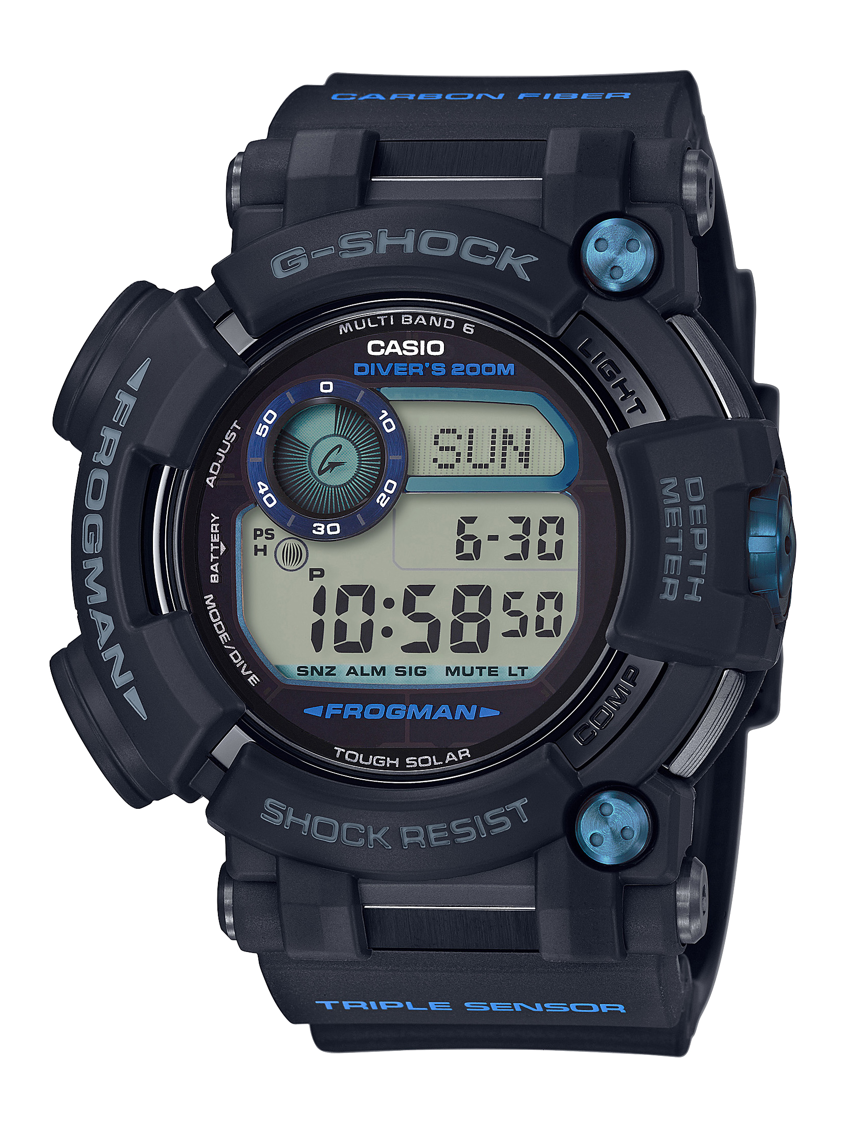 Casio's New G-SHOCK Master of G FROGMAN Dive Watch