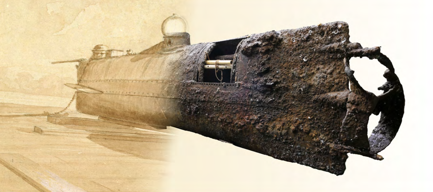 New Report Outlines How The Sunken U.S. Confederate Submarine Hunley Was Recovered