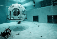 NEMO33 Deep Pool In Brussels Now Offering Underwater Dinners (Photo credit: DiverNet)