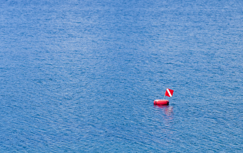 Scuba Diver Down Marker