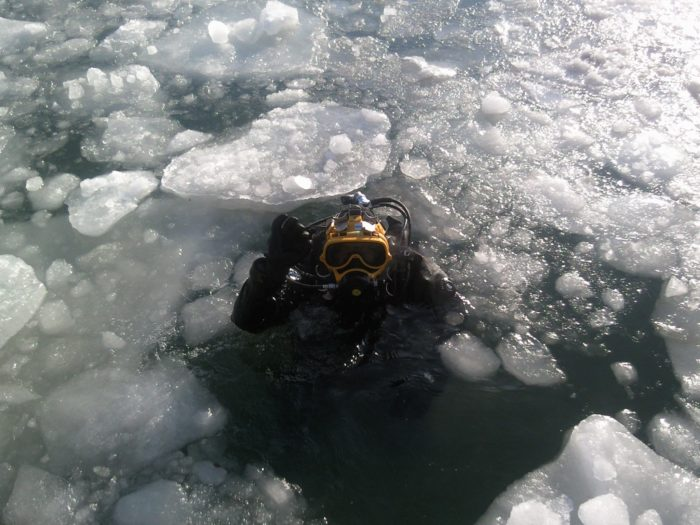 Ice Diving in Shiretoko Peninsula is more of an experience than a dive.