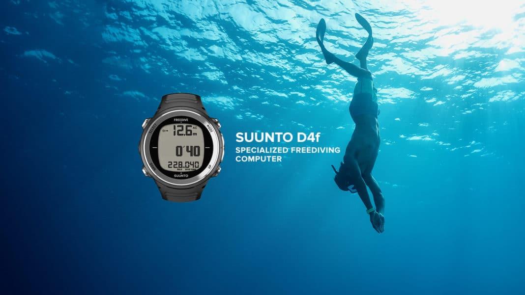 The Suunto D4F Freediving Computer