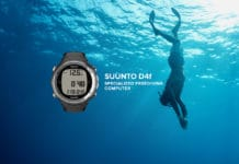 The Suunto D4F Freediving Computer