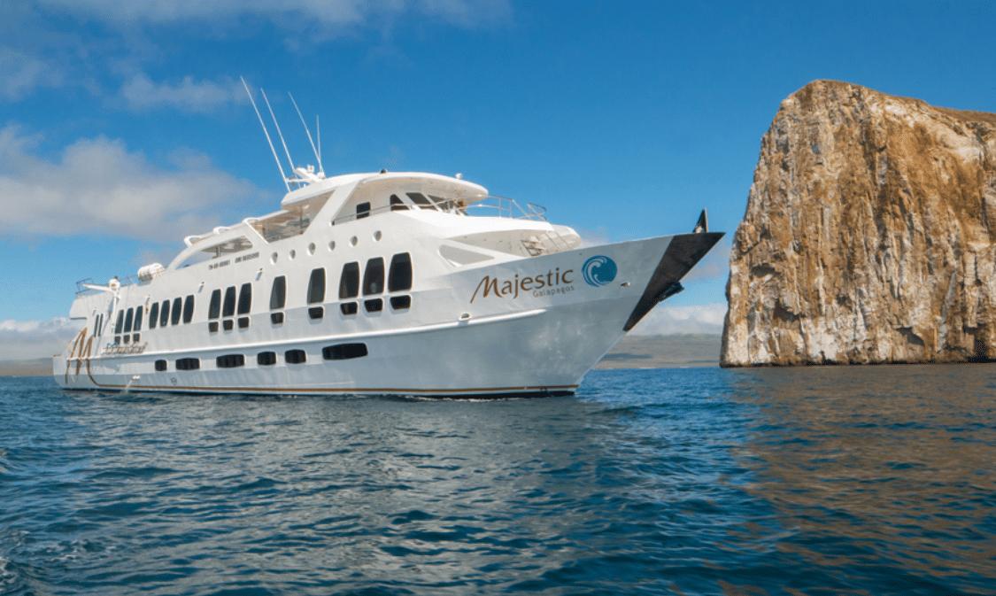 Explorer Ventures' Majestic Explorer Goes To Galapagos Islands