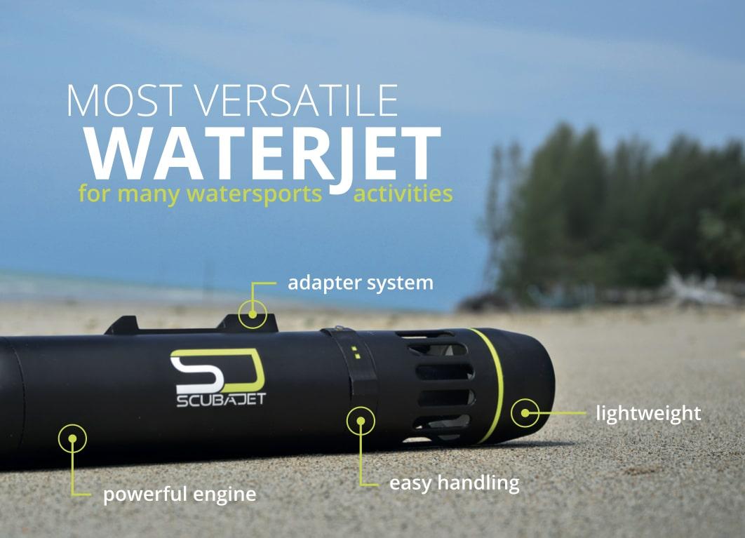 SCUBAJET Unveils Slimmer Water Jet Propulsion System – DeeperBlue com