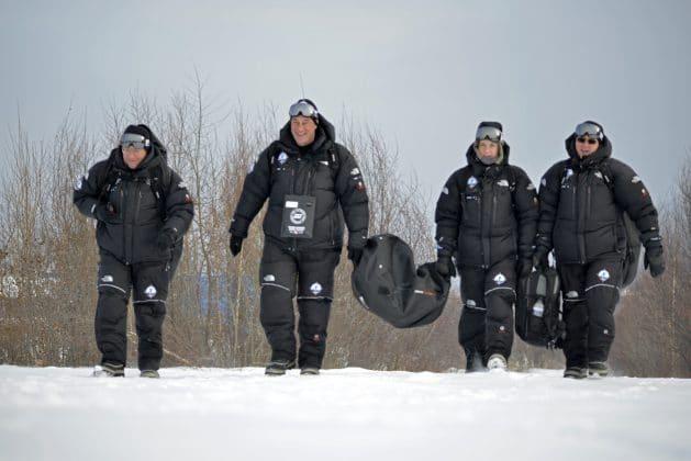 Mares SSI XR Team at Lake Baikal 2017