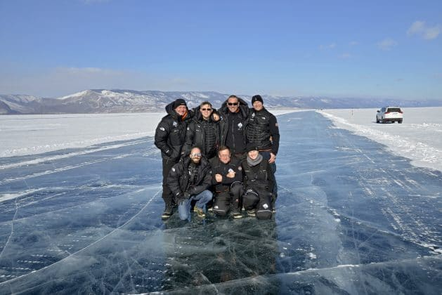 Mares SSI XR Team at Lake Baikal 2017