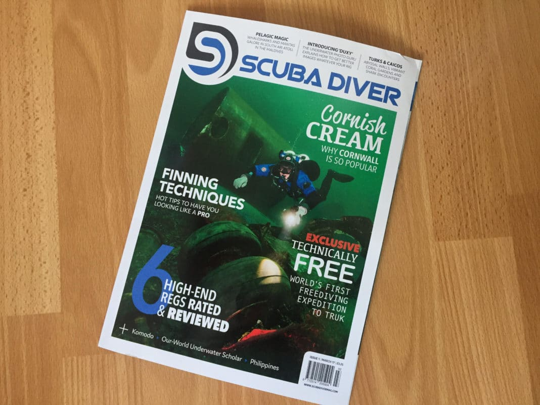 Scuba Diver First Edition