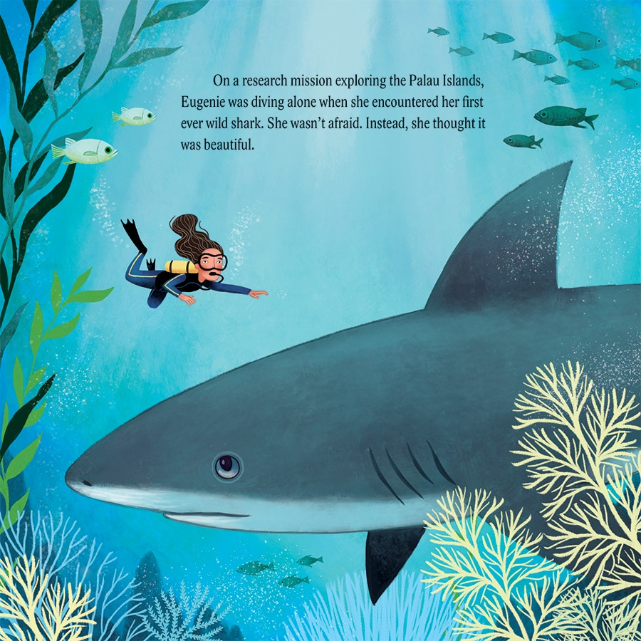 "Excerpt from ""Shark Lady: The True Story of How Eugenie Clark Became the Ocean's Most Fearless Scientist"""