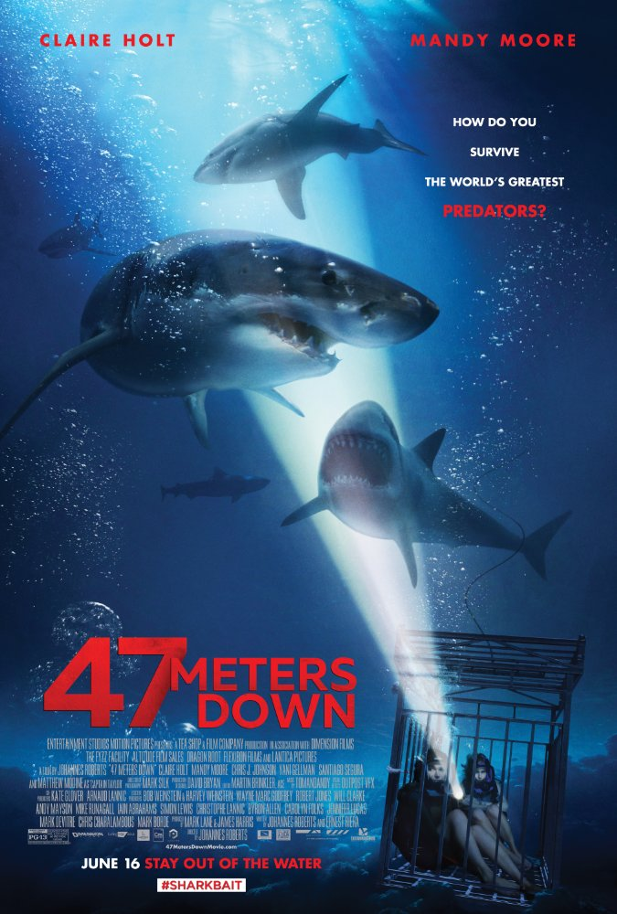 New Trailer For '47 Meters Down' Movie Released