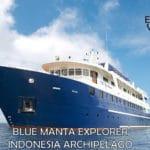 The M/V Blue Manta Explorer will tour the Indonesian Archipelago.