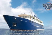 The M/V Blue Manta Explorer will tour the Indonesian Archipelago.