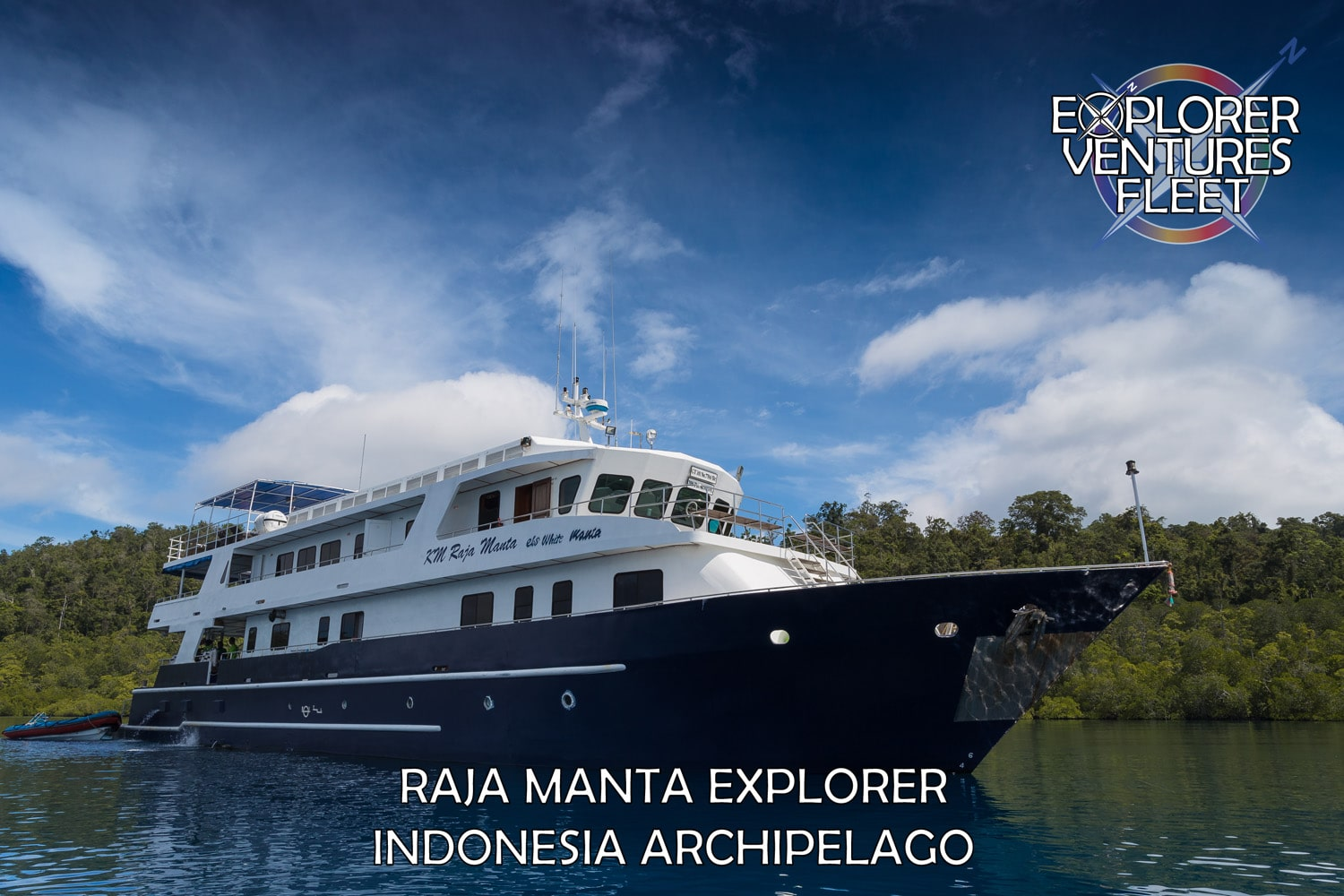 The M/V Raja Manta Explorer will tour the Indonesian Archipelago.