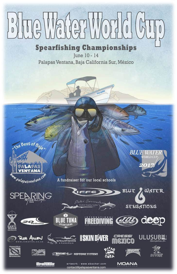 Blue Water World Cup spearfishing tournament to take place this June.