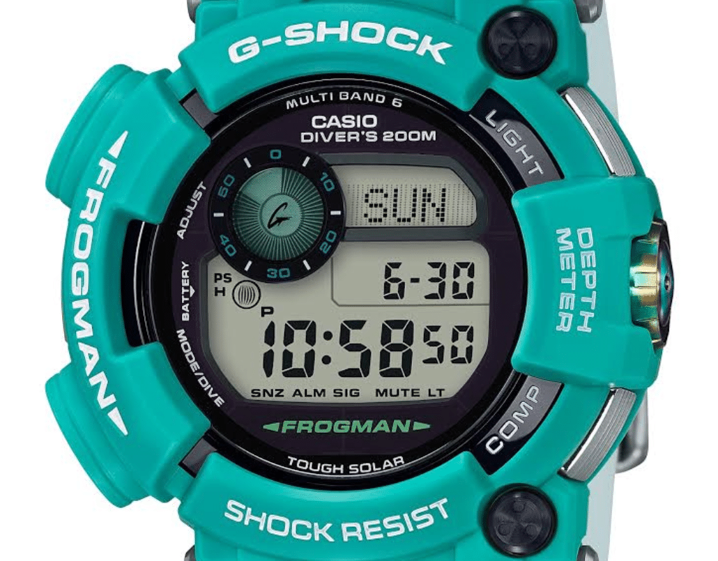 Casio G-SHOCK Introduces New, Limited-Edition Tuquoise Frogman Dive Watch