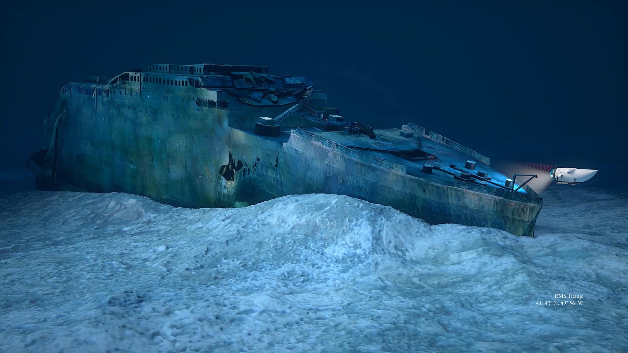 Tour Company Offering Dive Trip To The Titanic For US$105,129