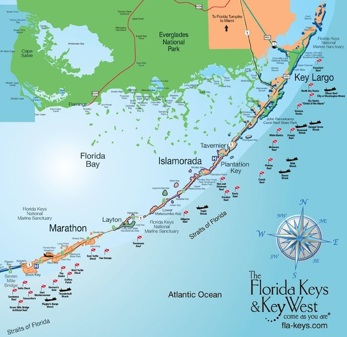 The Wondrous Florida Keys