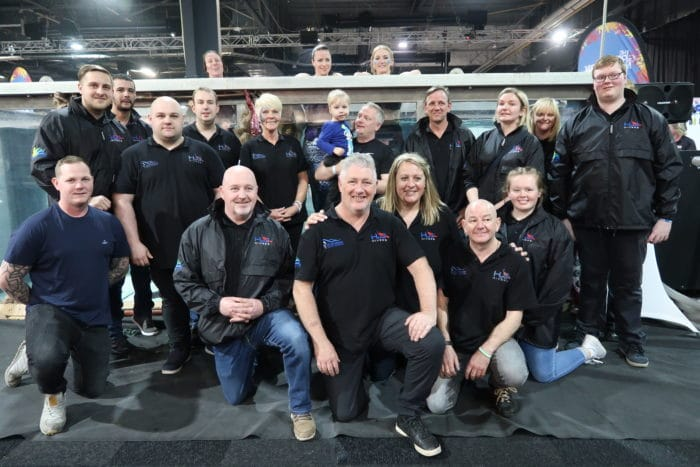 The Team behind the Great Northern Dive Show