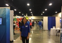 Sheri Daye At The Tenth Annual Blue Wild Expo