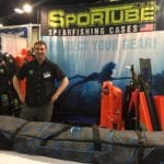 SporTube Showcases Poseidon Spearfishing Bag At Blue Wild Expo