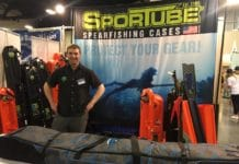SporTube Showcases Poseidon Spearfishing Bag At Blue Wild Expo