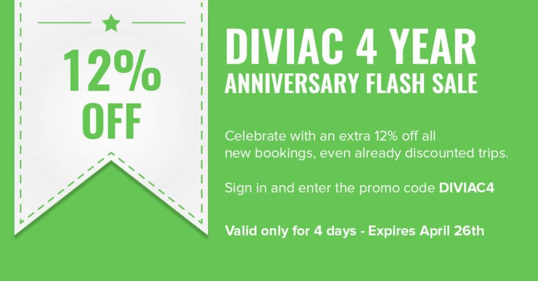 Diviac 4th Anniversary Flash Sale