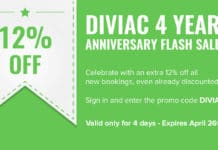 Diviac 4th Anniversary Flash Sale