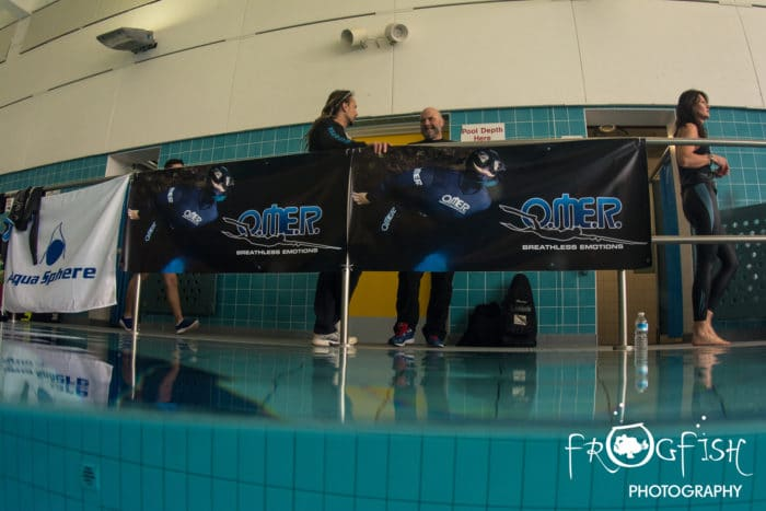 8th Great Northern AIDA freediving competition - picture by Frogfish Photography