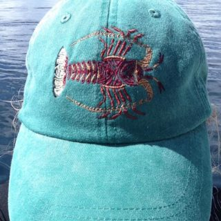 Tribal Lobster Hat by Heather Schaefer at ArtsyTooCreations.com