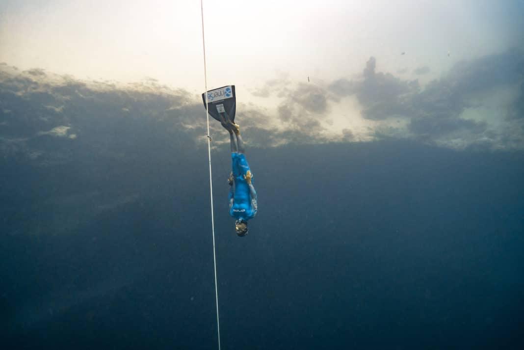 Walid Boudhiaf at Vertical Blue 2017 - photo by Daan Verhoeven