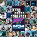 The competitors and support of Kona Depth Challenge 2017.