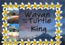 Kickstarter Campaign Underway For 'Wayan and the Turtle King' book