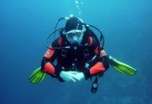 diver trim skill or behavior