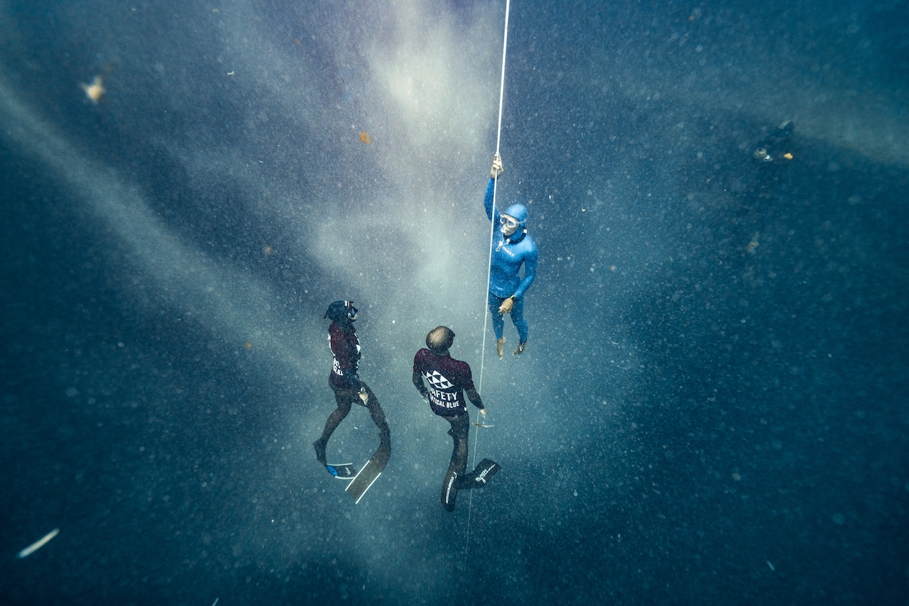 freediving takes you to other worlds (photo © Daan Verhoeven)