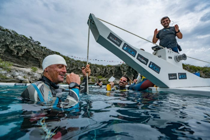 """""""Finally the no-fins white card I needed...""""(photo © Daan Verhoeven)"""
