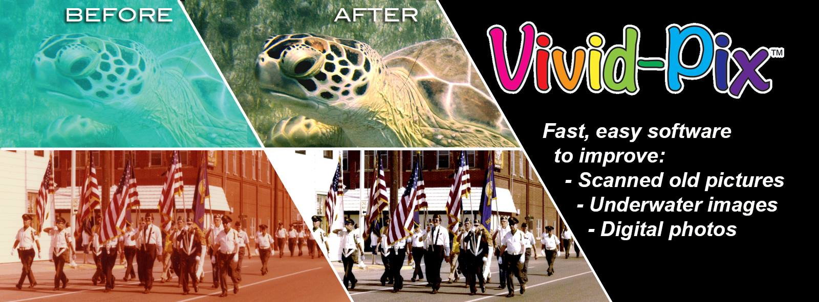 Vivid-Pix | Fast, easy software to improve your images