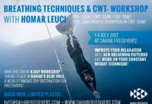 BREATHING TECHNIQUES AND CONSTANT WEIGHT WORKSHOP with HOMAR LEUCI