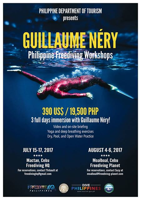 Guillaume Néry To Host Freediving Workshops In The