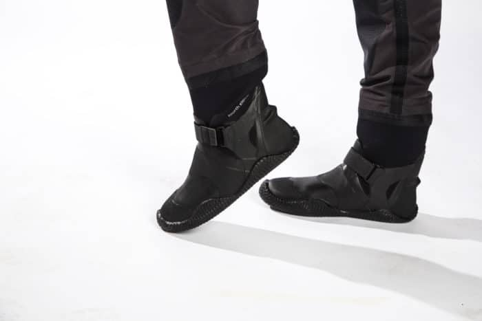 The most comfortable drysuit boots on the market