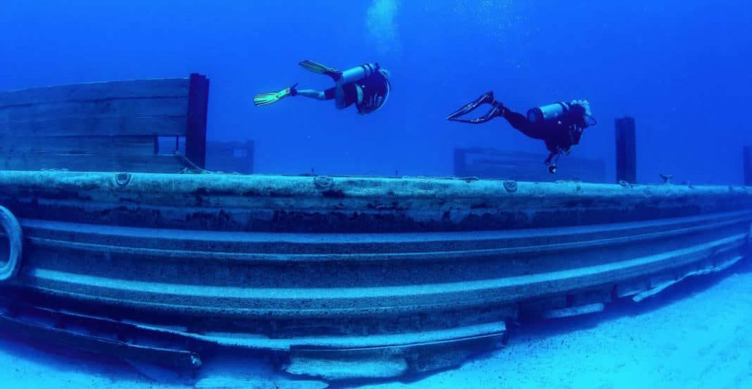 Check Out The Newest Wrecks Off North Bimini (All photo credits: RUDGR.com)
