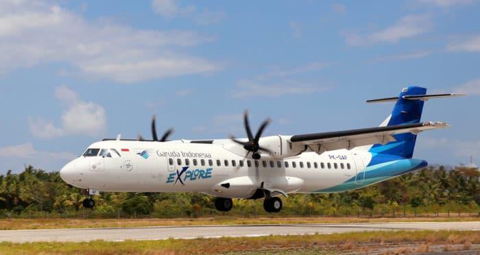 Wakatobi Charter Plane Arriving