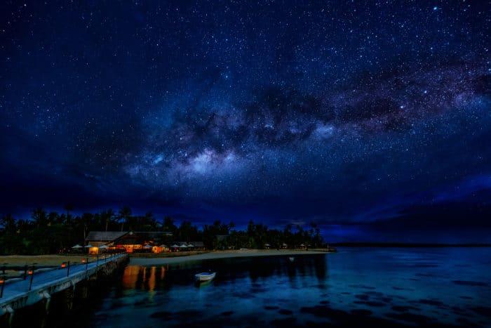 Milky way at Wakatobi Resort