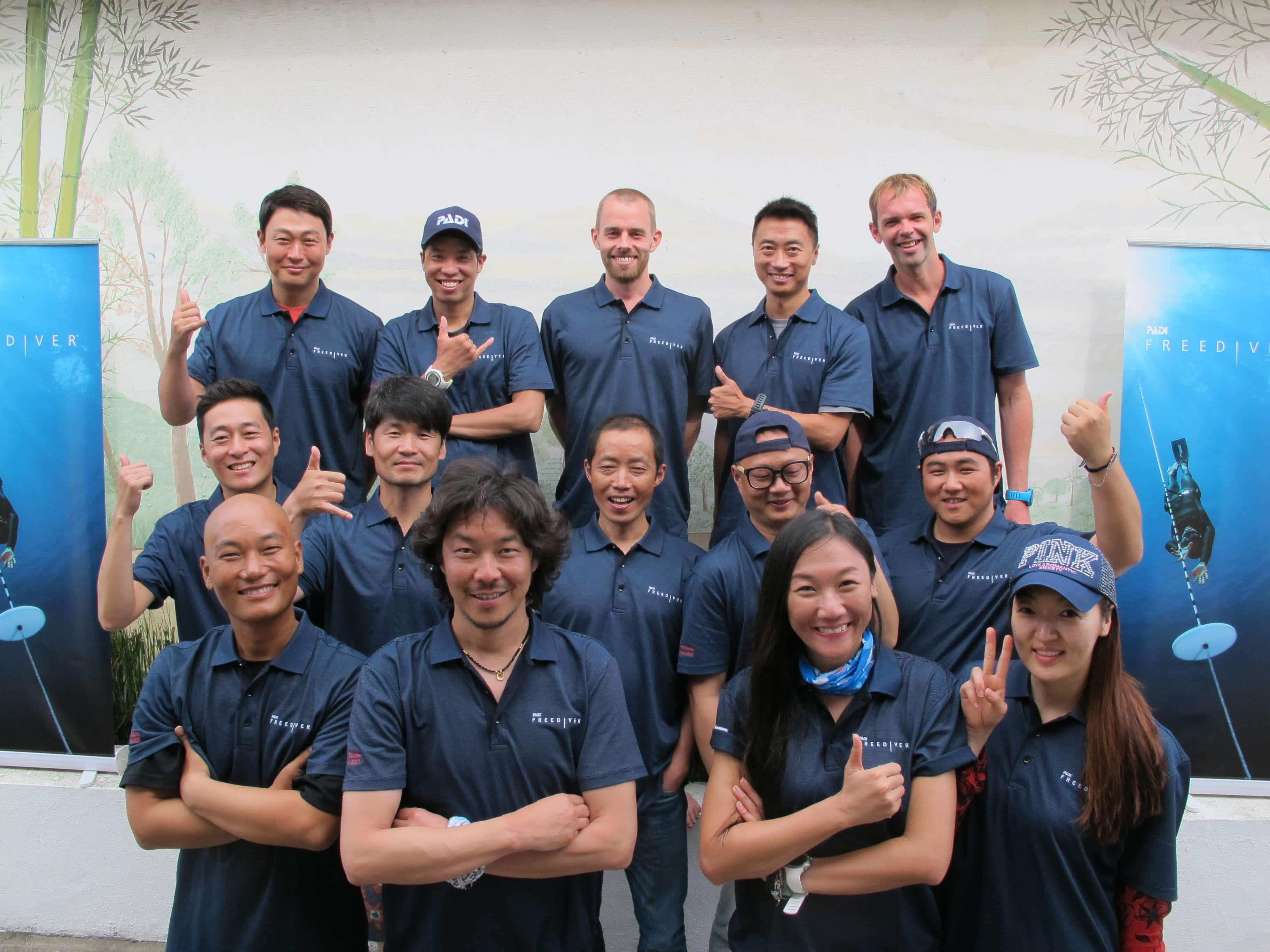 PADI Holds First-Ever Freediver Instructor Trainer Course In Asia