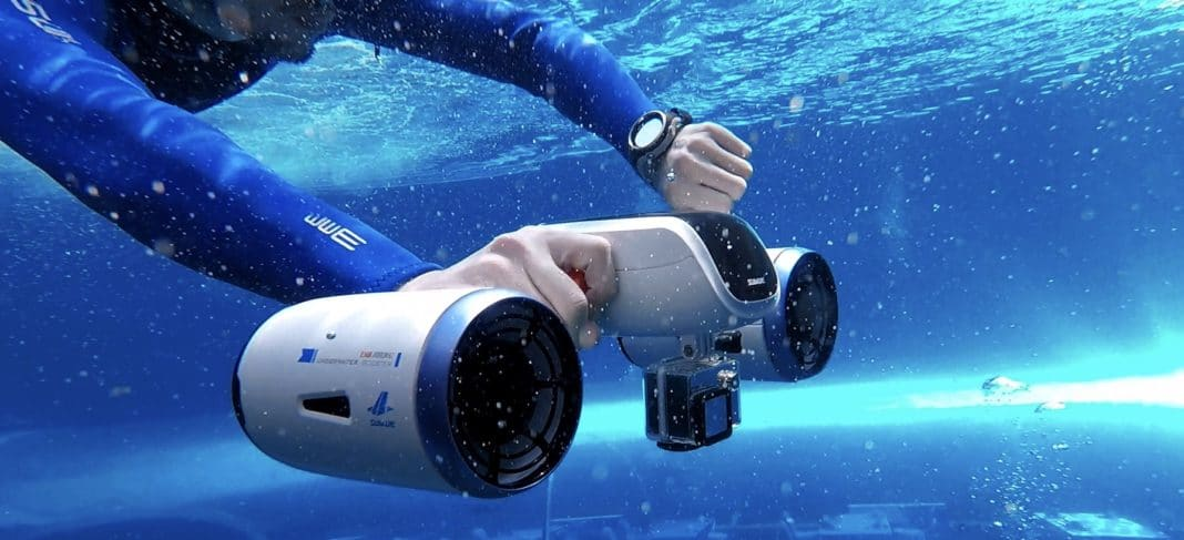 Crowdfunding Campaign Underway For New Underwater Scooter